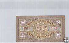 ESTONIE 25 MARKA 1922 PICK 54 a !!!!