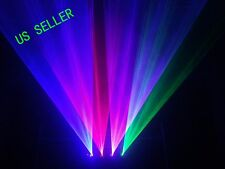 XDJ 1.2W RGBP 4 Color 4 HEADS DMX Laser Scan Stage Lighting DJ Party Light