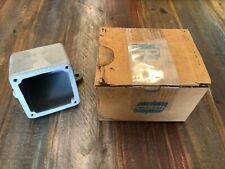 NEW IN BOX CROUSE-HINDS 1'' BACK BOX ARE36