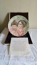 Royal Doulton Sayuri & Child Edna Hibel Ltd Edition 1974 Multi Color