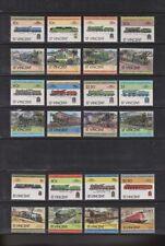 Briefmarken mit Eisenbahn-Motiven