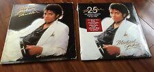Michael Jackson - Thriller LP - Original Release (Used) & 25th Anniversary (New)