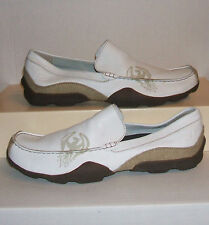 Skechers Genesis Footloose Men's White Leather Moccasins Loafers 13 US NEW WO/BX