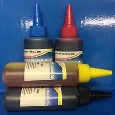 SET PRINTER REFILL INK FITS EPSON ECOTANK ET-3600 ET3600 ECO TANK BK/C/M/Y CISS