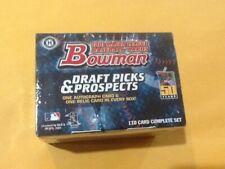 2001 BOWMAN Draft Picks &Prospects 110 CARD SET NEW UTLEY ICHIRO SUZUKI Rookie