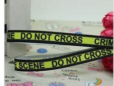 Crime Scene Do Not Cross Ribbon 9mm wide