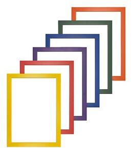 Premium Wood Rainbow Range Picture Frames Photo Frames - Premium Quality Wood