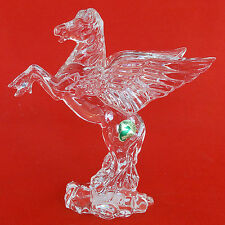 Pegasus lead crystal made Ireland by Waterford New Never Sold signed green tag