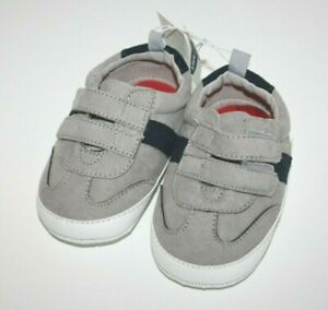 Old Navy Gray Grey Smoke Baby Boy Sneakers 12-18 Months New NWT
