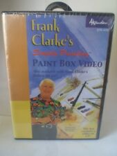 Frank Clarke's Simply Painting Paint Box Video CD NEW -- 1998