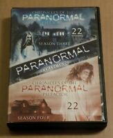 Chronicles Of The Paranormal Psi Factor Season 3 & 4 Dvd Disc Set