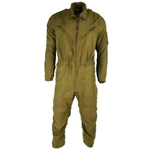 Genuine US army Tanker Suit Coveralls Olive Green nomex fire resistant jumpsuit