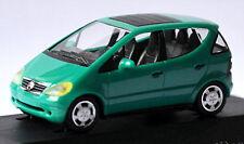 MERCEDES BENZ CLASE A W168 CAPOTA PLEGABLE 5 PUERTAS 1997 Green Oasis verde 1:87
