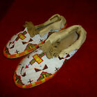 INDIAN WARS ERA / CA 1880 NATIVE AMERICAN PLAINS INDIAN HAND BEADED MOCCASINS