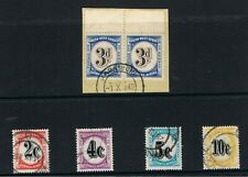 SOUTH WEST AFRICA POSTAGE DUES USED LOT CATALOGUE VALUE £50.