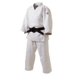 "KUSAKURA ""Senpou"" special double-woven judo gi [JZ] White, ships from JAPAN NEW"