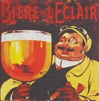 3 Toallas Papel Cocktail Publicidad Cerveza l'rayo papel Servilletas