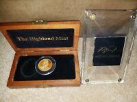 Michael Jordan 1995 Upper Deck 1oz .999 Fine Gold #10 & Info Card Highland Mint
