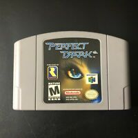 Perfect Dark Video Game (Nintendo N64, 2000) Used & Tested