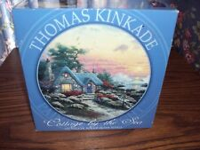 THOMAS KINKADE - COTTAGE BY THE SEA -NEW  750 PIECE ROUND PUZZLE - AGES 12 UP