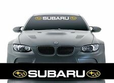 Car Styling Front Windshield Banner Decal Vinyl Car Stickers for SUBARU Auto