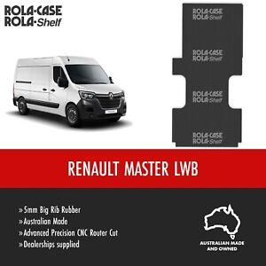 Renault Master LWB - Genuine Van Flooring 5mm Big Rib Cargo Rubber Computer Cut