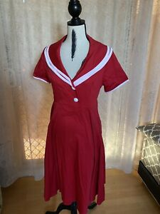 Collectif Red Dress 14