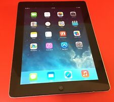 Apple iPad 2 64GB Black 3G Cellular Tablet Used Working Condition! Clean iCloud