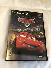 Disney Pixar Cars Playstation 2 PS2 Game Complete and Tested Car Racing
