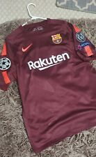 2017-18 Barcelona third jersey Messi #10 Champions League