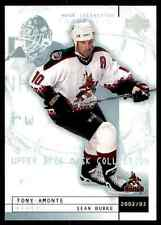 2002-03 Upper Deck Mask Collection Sean Burke Tony Amonte #67