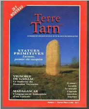 Terre du Tarn - Numéro 1  - 2000 - 40 pages - 22,3  x 17,5 cm