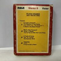 Floyd Cramer Only The Big Ones Piano Stereo 8 Track Tape