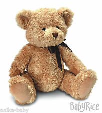New Baby Baby's First Traditional Brown Teddy Bear Boy Girl Soft Cuddly Toy Ted
