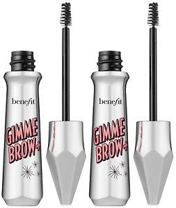 Benefit 2 Gimme Brow+ Volumizing Eyebrow Gel Shade 5 Deep MSRP $48 NIB
