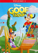 Goof Troop Volume 1 (DVD, 2015,)  Goofy and his pals    27 episodes  DISNEY