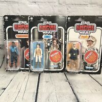 Star Wars Retro kenner Collection Lot Hoth Hans Solo Leia Lando Empire Strikes