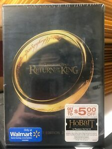 LORD OF RINGS RETURN OF KING New Sealed Extended DVD Set