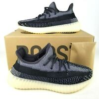 adidas Yeezy Boost 350 V2 Carbon Asrael Shoes Mens Size 6.5 Non RF Black White