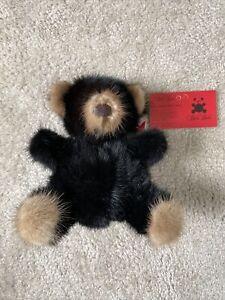 Rare Bear Mink 1982 Teddy Bear