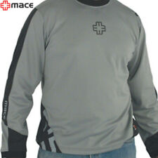 MACE Matrix Jersey Long Sleeve (Large) MTB/Casual Tee - Grey/Smoke