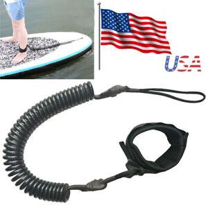 Fishing Rod Tether Leashes Paddle Board Surf Leash for Kayak Canoe Raft Boat Fishing VGEBY1 3Pcs Coiled Paddle Leashes