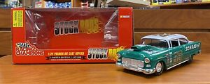 Racing Champions 1:24 Nascar Stock Rods 1955 Chevy, 1 Of 5,000