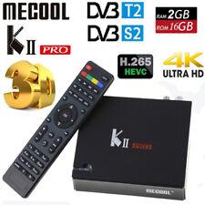 MECOOL KII PRO DVB S2+T2 Satellite Receiver+Android Smart TV BOX 2GB+16GB 4K HD