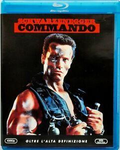Blu-Ray Commando Avec Arnold Schwarzenegger 1985 Usagé