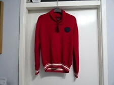 BEAUTIFUL BOYS GANT 100% COTTON RED MIX JUMPER 11-12 YEARS 145/152 CM £58