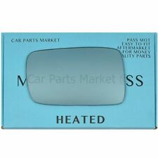 BMW 3 Series E46 Coupe 98-05 Left Electric Blue wing mirror glass