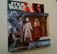 Star Wars The Force Awakens First Order Snowtrooper Officer and Snap Wexley