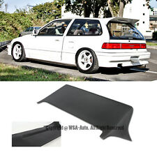 For 88-91 Civic EF9 J Style Rear Roof Spoiler Wing FRP 3Dr Hatchback Body Kit
