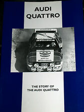 AUDI QUATTRO THE STORY ROAD AND RALLY CP PRESS FROM MOTORING-MAN